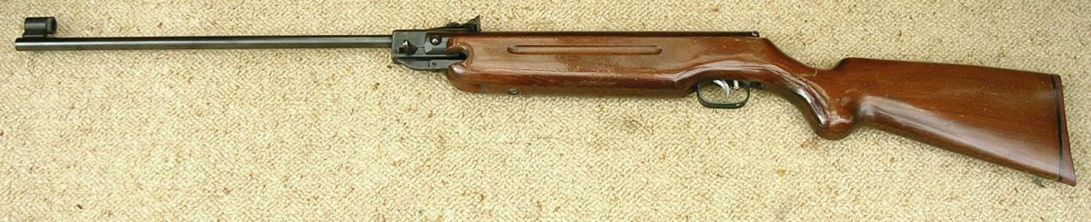 Vintage air rifle parts